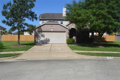 Missouri City Single Family Home For Sale: 2814 Scottsdale Palms Drive E