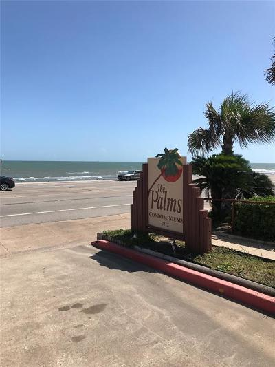 Galveston Condo/Townhouse For Sale: 7312 Seawall Boulevard #215