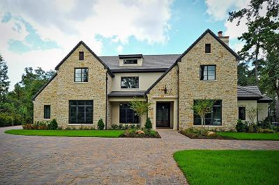 The Woodlands Single Family Home For Sale: 3 Thornblade Circle