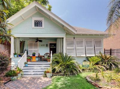 Houston Single Family Home For Sale: 610 Welch Street
