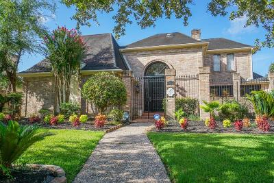 Houston Single Family Home For Sale: 1406 W Brooklake Drive