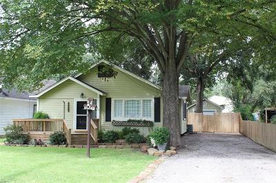 Tomball Single Family Home For Sale: 504 Clayton Street