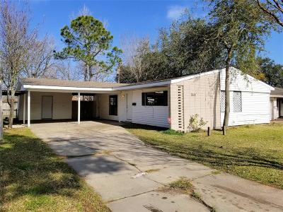 Texas City Single Family Home For Sale: 2114 19th Avenue N