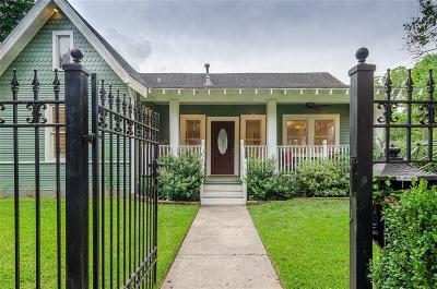 Houston Single Family Home For Sale: 1038 Walling Street