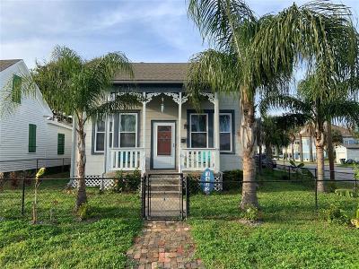 Galveston Rental For Rent: 1402 Avenue K