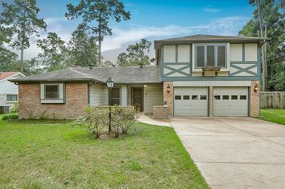 Conroe Single Family Home For Sale: 300 Shady Glen Lane