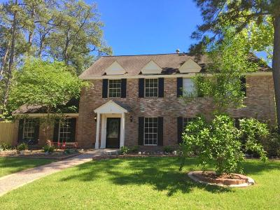Houston Single Family Home For Sale: 1723 N Castlerock Drive