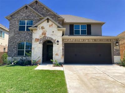Crosby Single Family Home For Sale: 419 Bayberry Landing