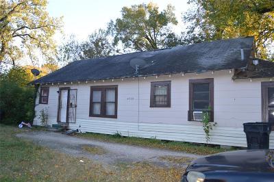 Houston Multi Family Home For Sale: 4730 Ward Street