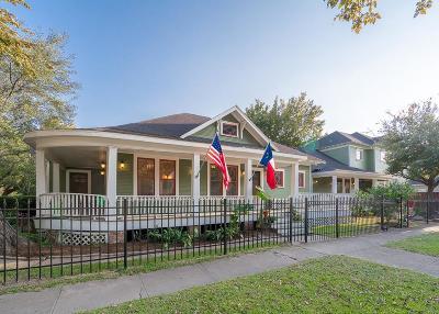 Houston Heights, Houston Heights Annex, Houston Heights, Timbergrove Single Family Home For Sale: 645 Harvard Street
