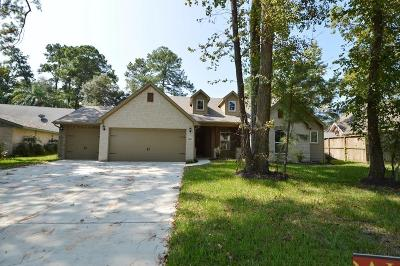 Crosby Single Family Home For Sale: 16031 Broadwater