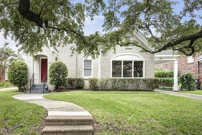 Houston Single Family Home For Sale: 1712 Kipling