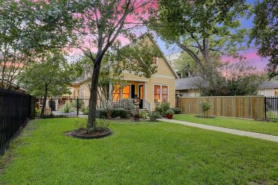 Houston Single Family Home For Sale: 511 Heights Boulevard