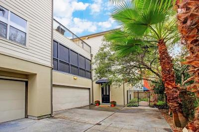 Houston Condo/Townhouse For Sale: 732 Lester Street