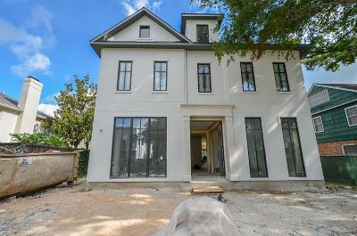 Houston Single Family Home For Sale: 3464 Locke Lane