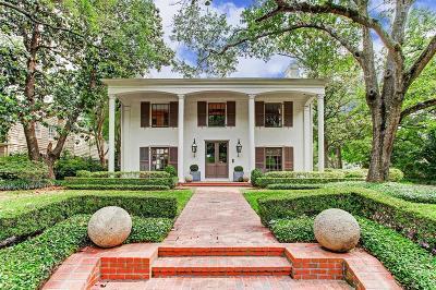 River Oaks Single Family Home For Sale: 3471 Wickersham Lane