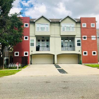 Houston Condo/Townhouse For Sale: 1147 W 24th Street #B