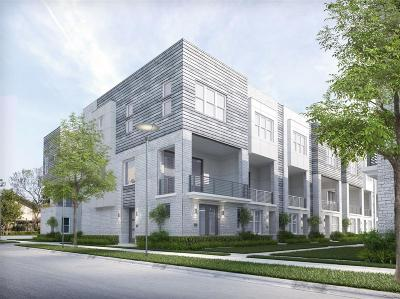 Houston Condo/Townhouse For Sale: 2628 Rusk Street