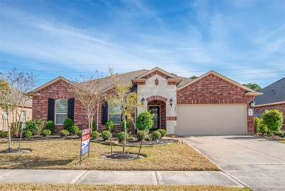 Tomball Single Family Home For Sale: 9911 Easterwood Trail