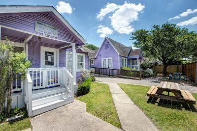 Houston Single Family Home For Sale: 1529&1533 Lombardy Street