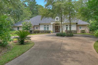 Conroe Single Family Home For Sale: 7417 Teaswood Drive