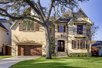 Bellaire Single Family Home For Sale: 4926 Mimosa Drive