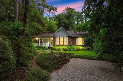 Conroe Single Family Home For Sale: 14186 Old Texaco Road
