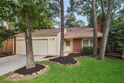 The Woodlands Single Family Home For Sale: 79 Maple Branch Street