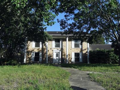 Dickinson Single Family Home For Sale: 204 Old Bayou Drive