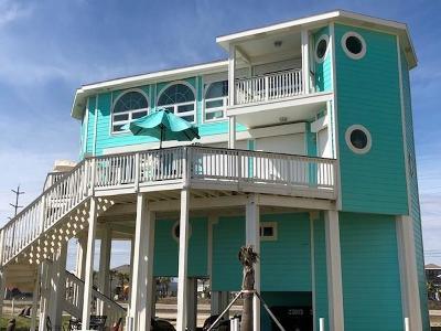 Galveston Single Family Home For Sale: 23013 Gulf Drive