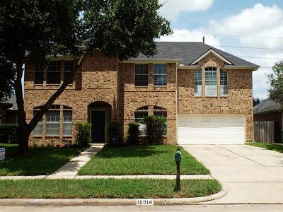 Houston Single Family Home For Sale: 16914 Carbridge Drive