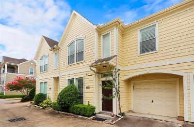 Houston Condo/Townhouse For Sale: 1506 Sutton Street
