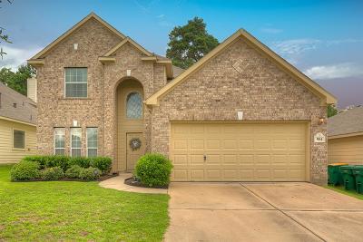 Willis Single Family Home For Sale: 954 Oak Glen Drive
