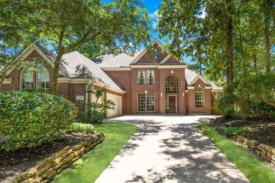 The Woodlands Single Family Home For Sale: 109 N Concord Forest Circle