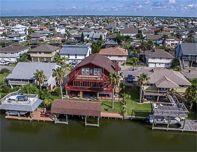 Bayou Vista Single Family Home For Sale: 1249 Sailfish Street