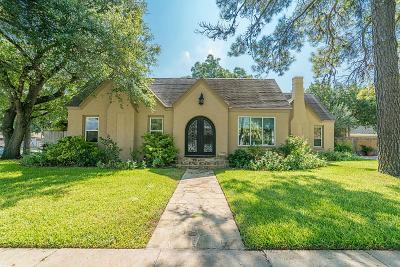 Columbus Single Family Home For Sale: 1303 Milam Street