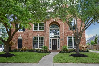 Manvel Single Family Home For Sale: 2619 Misty Grove Drive