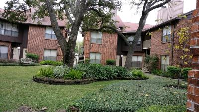 Houston Condo/Townhouse For Sale: 3100 Walnut Bend Lane #309