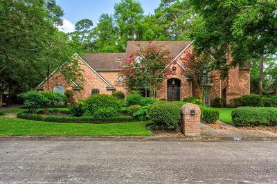 Kingwood Single Family Home For Sale: 2111 Pleasant Creek Drive