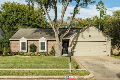 Richmond Single Family Home For Sale: 2431 Country Place Drive