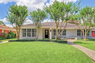 Houston Single Family Home For Sale: 3514 Cloverdale Street