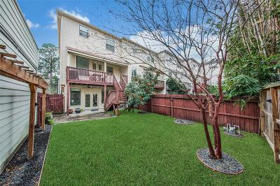 Houston Condo/Townhouse For Sale: 1330 Willard Street