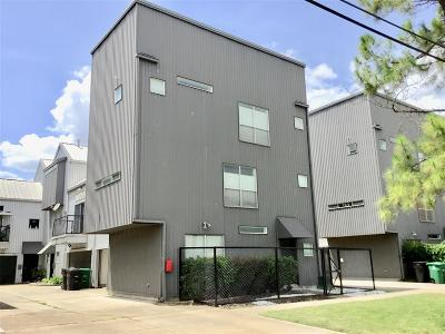 Houston Condo/Townhouse For Sale: 2616 Chenevert Street