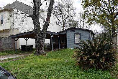 Houston Single Family Home For Sale: 1432 Nashua Street