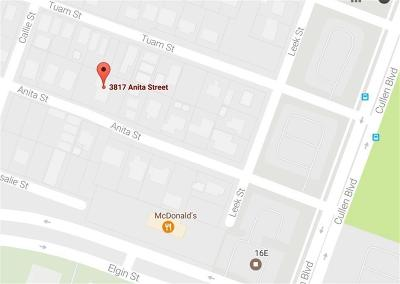 Houston Single Family Home For Sale: 3817 Anita Street