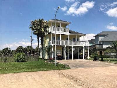 Galveston Single Family Home For Sale: 4001 Bridge Harbor Drive