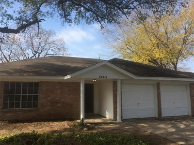 Cypress TX Single Family Home For Sale: $165,000