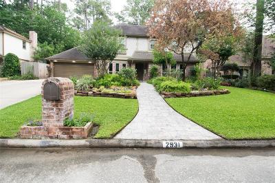 Houston Single Family Home For Sale: 2931 Thorne Creek Lane