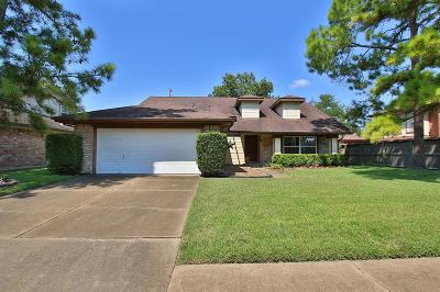 Houston Single Family Home For Sale: 2110 Hickory Lawn Drive