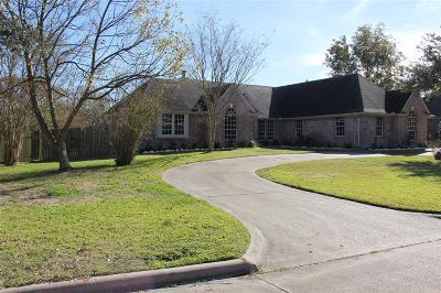 La Porte Single Family Home For Sale: 3109 Bayou Drive